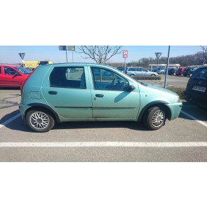 Plastové lemy pre Fiat Punto II 5-DVEROVÉ HTB 1999-2010