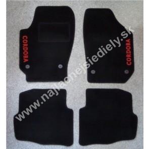 Textilné koberce pre SEAT CORDOBA III S PODTLAČOU