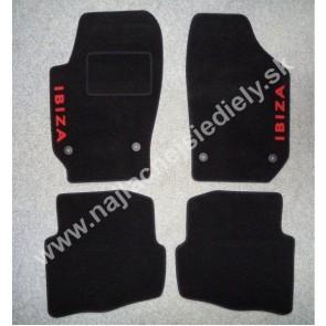 Textilné koberce pre SEAT IBIZA III S PODTLAČOU