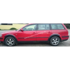 Plastové lemy pre VW PASSAT B5 COMBI 1996-2000