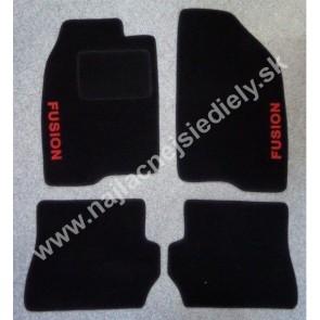 Textilné koberce pre FORD FUSION S PODTLAČOU 02-05