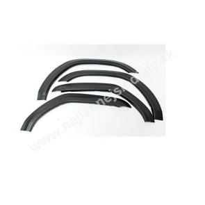 Plastové lemy pre FIAT PANDA II 2003-2012
