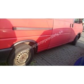 Plastové lemy pre VW T4 TRANSPORTER 1990-2003