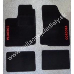 Textilné koberce pre SEAT CORODBA II S PODTLAČOU