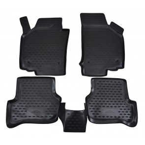 Gumené rohože SEAT Leon (2006-2012)  4 ks