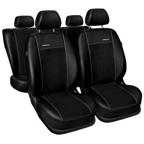 Autopoťahy pre AUDI A4 (B8) (štandardné sedačky), 2008-2015, ČIERNE, 674