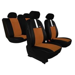 Autopoťahy univerzálne GT8 hnedé