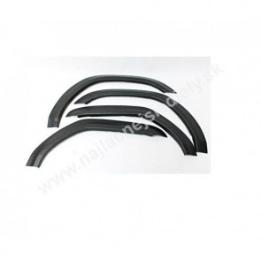 Plastové lemy pre Seat Ibiza III 5-dverový 2002-2009