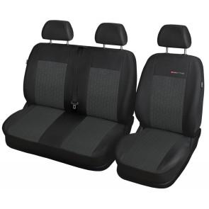 Autopoťahy pre FORD TRANSIT, 61-P1 (štandardné sedačky )