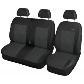 Autopoťahy pre VW T-6, PREDNÉ 640-P1 2+1