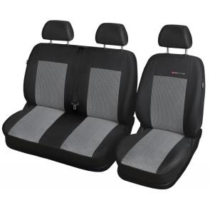 Autopoťahy pre FORD TRANSIT, 61-P2 (štandardné sedačky)
