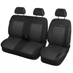 Autopoťahy pre FORD TRANSIT, 61-P3 (štandardné sedačky)